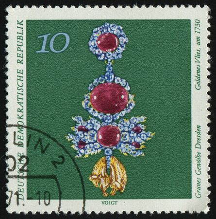 GERMANY- CIRCA 1971: stamp printed by Germany, shows Golden Fleece, circa 1971. photo