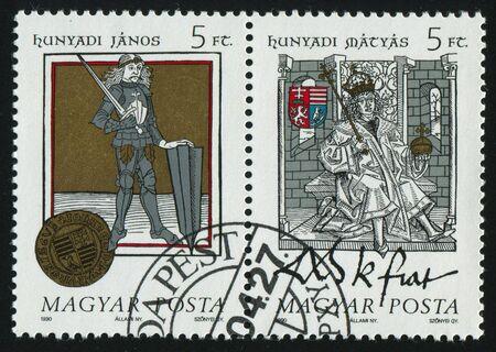 HUNGARY - CIRCA 1990: Interior of an ancient knight's castle, circa 1990. Stock Photo - 8457264