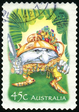 AUSTRALIA - CIRCA 2002: stamp printed by Australia, shows gnome, circa 2002
