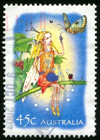 AUSTRALIA - CIRCA 2002: stamp printed by Australia, shows wwwwwwwwwwwwwwwwwwwwwww, circa 2002 photo