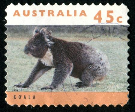 AUSTRALIA - CIRCA 1994: stamp printed by Australia, shows koala, circa 1994 photo