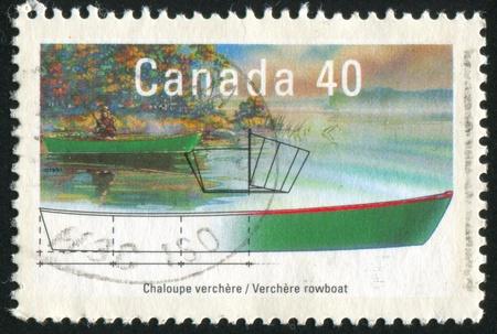 fishman: CANADA - CIRCA 1991: stamp printed by Canada, shows goose, circa 1991
