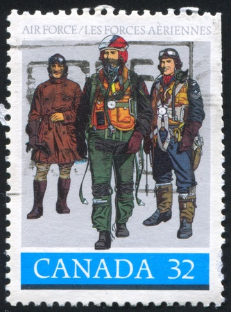 CANADA - CIRCA 1984: stamp printed by Canada, shows Royal Canadian Air Force, circa 1984 photo