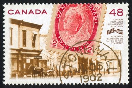 CANADA - CIRCA 2002: stamp printed by Canada, shows Queen Victoria, circa 2002