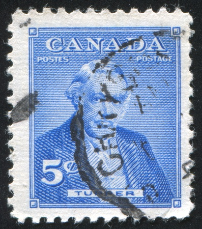 CANADA - CIRCA 1955: stamp printed by Canada, shows Sir Charles Tupper, circa 1955 Stock Photo - 9834333