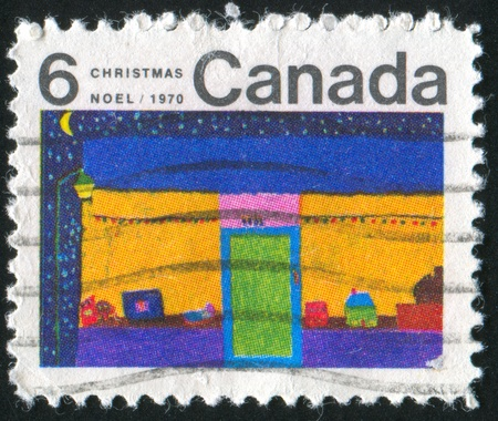 CANADA - CIRCA 1970: stamp printed by Canada, shows Toy Store, circa 1970 photo