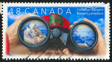 CANADA - CIRCA 2003: stamp printed by Canada, shows Canadian Rangers, circa 2003 Stock Photo - 9981066