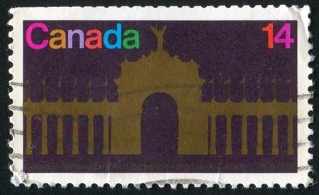 CANADA - CIRCA 1978: stamp printed by Canada, shows Princes Gate, circa 1978 photo