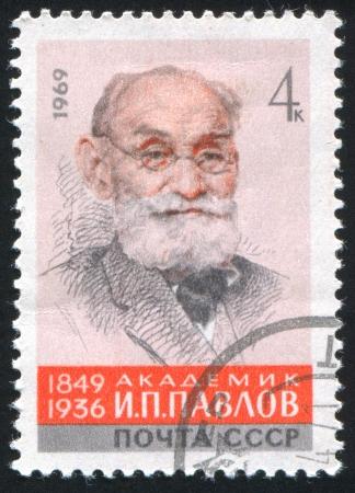 RUSSIA - CIRCA 1969: stamp printed by Russia, shows Ivan Petrovich Pavlov, circa 1969