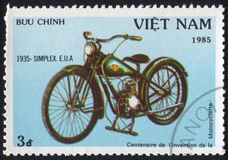 nam: VIET NAM - CIRCA 1985: stamp printed by Viet Nam, shows Simplex, circa 1985