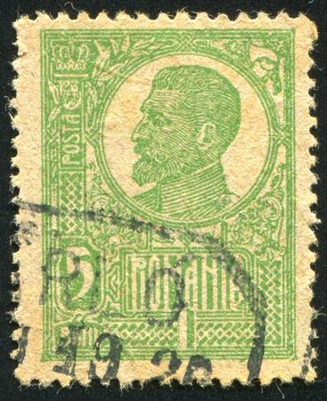 ROMANIA - CIRCA 1920: stamp printed by Romania,  circa 1920.