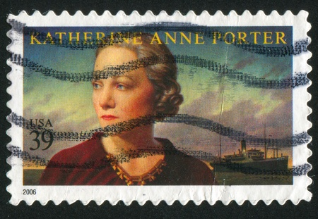 UNITED STATES - CIRCA 2006: stamp printed by United states, shows Katherine Anne Porter, circa 2006