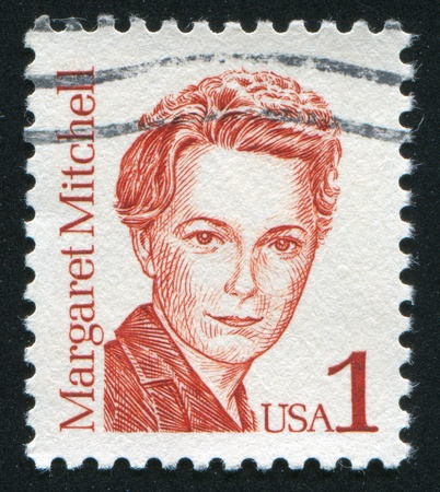 UNITED STATES - CIRCA 1986: stamp printed by United states, shows Margaret Mitchell, circa 1986 Editorial