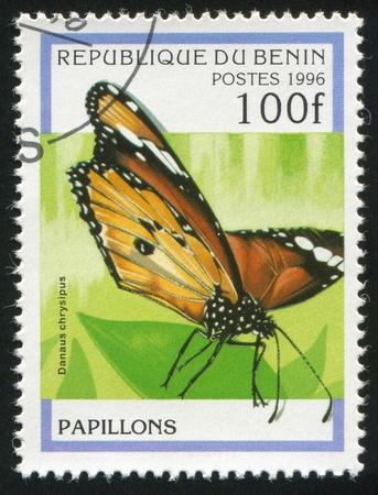 BENIN - CIRCA 1996: stamp printed by Benin, shows butterfly, circa 1996. photo