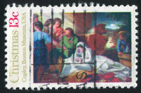 UNITED STATES - CIRCA 1976: stamp printed by United States of America, shows picture