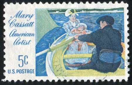 UNITED STATES - CIRCA 1966: stamp printed by United States of America, shows picture