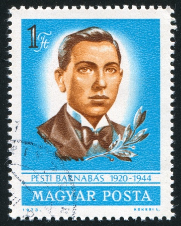 barnabas: HUNGARY - CIRCA 1973: stamp printed by Hungary, shows Barnabas Pesti, circa 1973