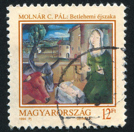 HUNGARY - CIRCA 1994: stamp printed by Hungary, shows the picture