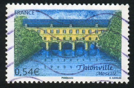 FRANCE - CIRCA 2006: stamp printed by France, shows Thionville Moselle, circa 2006 Stock Photo - 12394921