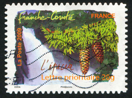 FRANCE - CIRCA 2009: stamp printed by France, shows Franche Comte, circa 2009 photo