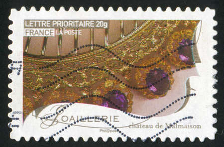FRANCE - CIRCA 2009: stamp printed by France, shows works of fine art, jewellery, circa 2009 Stock Photo - 12354881