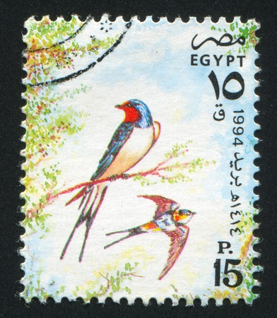 abjad: EGYPT - CIRCA 1994: stamp printed by Egypt, shows Fire crest, circa 1994.