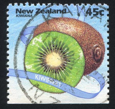 NEW ZEALAND - CIRCA 1994: stamp printed by New Zealand, shows Kiwiana, Kiwi Fruit, circa 1994