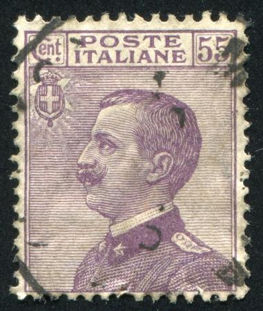 emmanuel: ITALY - CIRCA 1906: stamp printed by Italy, shows Victor Emmanuel III, circa 1906
