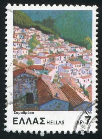 GREECE - CIRCA 1979: stamp printed by Greece, shows Samothrace, circa 1979 photo