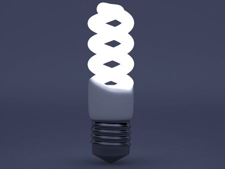High resolution image. 3d rendered illustration. Light bulb symbol. illustration