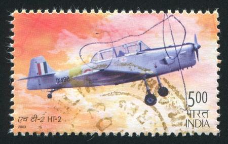 INDIA - CIRCA 2003: stamp printed by India, shows plane, circa 2003 Stock Photo - 15509038