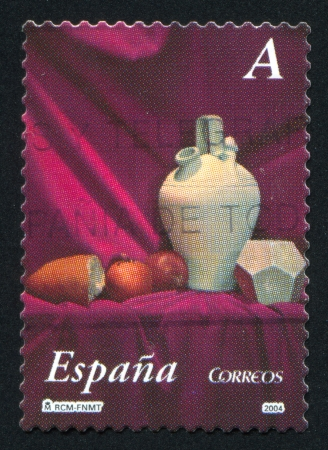 SPAIN - CIRCA 2004: stamp printed by Spain, shows Boulot, circa 2004