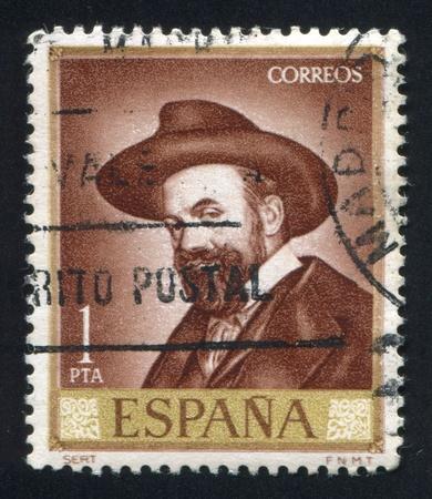 SPAIN - CIRCA 1966: stamp printed by Spain, shows Sert, circa 1966