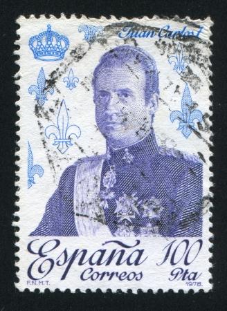 SPAIN - CIRCA 1978: stamp printed by Spain, shows Juan Carlos I, circa 1978 Stock Photo - 17146138