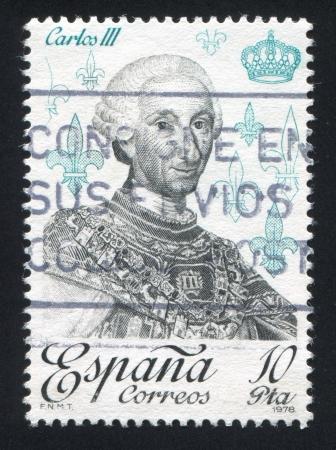 SPAIN - CIRCA 1978: stamp printed by Spain, shows Carlos III, circa 1978 Stock Photo - 17145723