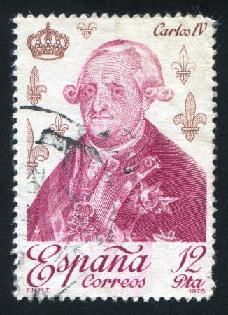SPAIN - CIRCA 1978: stamp printed by Spain, shows Carlos IV, circa 1978 Stock Photo - 17145868