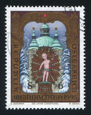 AUSTRIA - CIRCA 1995: stamp printed by Austria, shows Christ Child, circa 1995