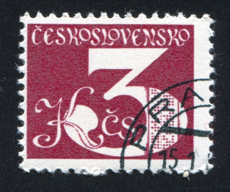 CZECHOSLOVAKIA - CIRCA 1979: stamp printed by Czechoslovakia, shows Electronic Circuits, circa 1979