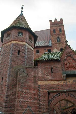 teutonic: Il Castello dell'Ordine Teutonico a Malbork, Polonia
