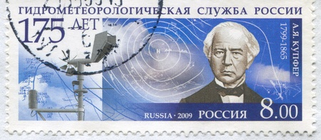 RUSSIA - CIRCA 2009: stamp printed by Russia, shows Adolph Kupffer, circa 2009