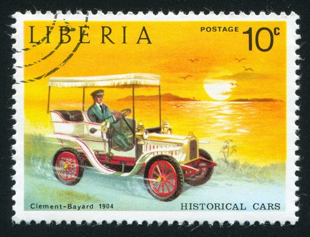 clement: LIBERIA - CIRCA 1973: stamp printed by Liberia, shows Clement bayard, circa 1973