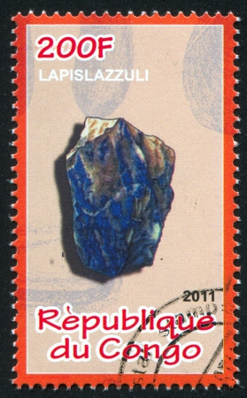 CONGO - CIRCA 2011: stamp printed by Congo, shows Lunar caustic, circa 2011 Stock Photo - 22330558