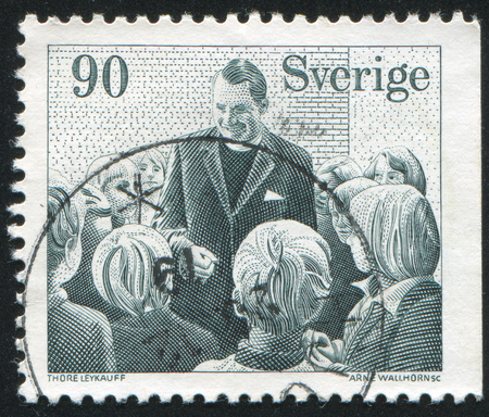 SWEDEN - CIRCA 1978: stamp printed by Sweden, shows Swedish Missionary Society, circa 1978