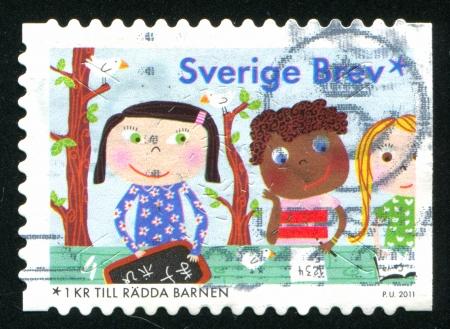 SWEDEN - CIRCA 2011: stamp printed by Sweden, shows School, circa 2011