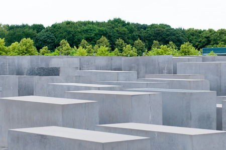 jews: The Memorial to the Murdered Jews of Europe, also known as the Holocaust Memorial, is a memorial in Berlin to the Jewish victims of the Holocaust, designed by architect Peter Eisenman and engineer Buro Happold. Editorial
