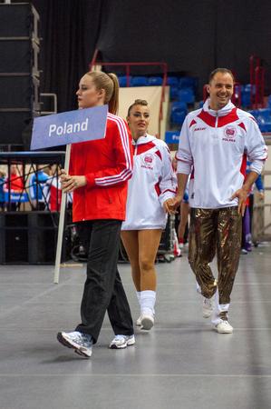 masters of rock: KALININGRAD - MAY 10: European Championships in Acrobatic Rock-n-Roll, 10 May, 2014 in Kaliningrad Russia.