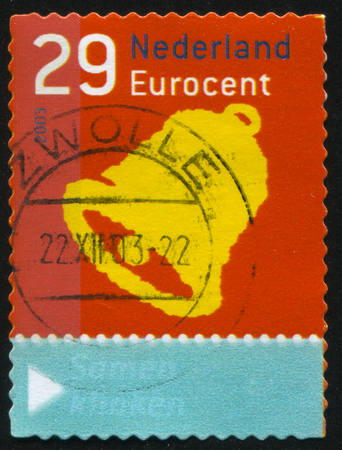 RUSSIA KALININGRAD 4 JULY 2017 Stamp Printed By Netherlands Shows