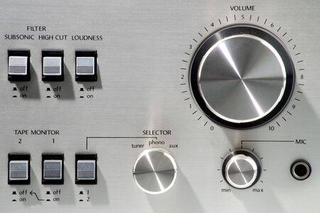 Stereo panel Stock fotó