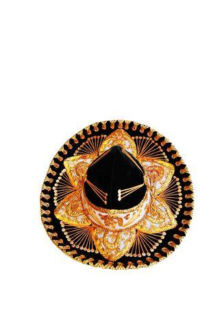 sombrero isolated on white background photo