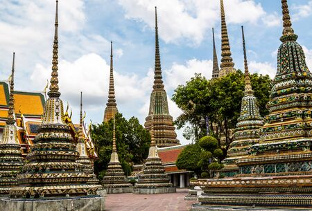 tourist destinations: Wat Pho is one of the major tourist destinations in Thailand.
